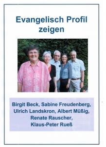 Evangelische Profil zeigen