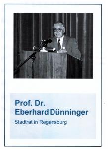 Prof Dünninger